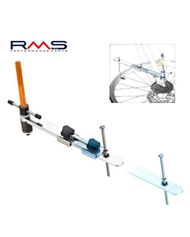 Icetoolz Attrezzo Allineamento Forcellino Cambio, per Cerchi da 18 a 30 di Diametro