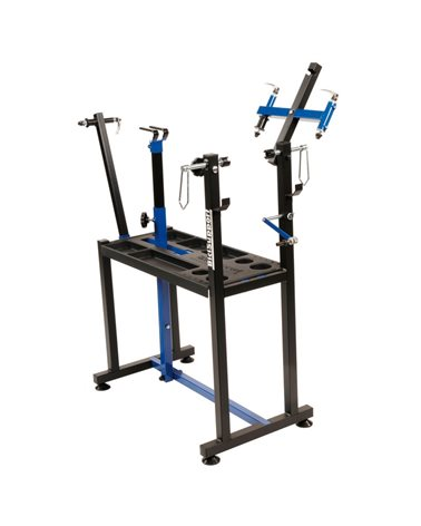 Bicisupport Professional Workbench, Equipped With Wheel Truing Stand, Central Movement Support.