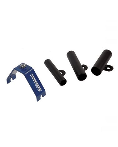 Bicisupport Front Wheel Benches Adapters With Passing Hole