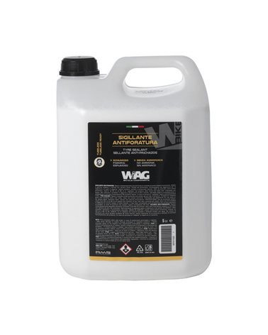 Wag Foaming Tyre Sealant, No Ammonia, Ideal For Tubeless And Tubeless Ready 5 Litres