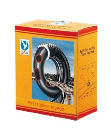 Pax Motive Rubber Patch D.35mm Round (50Pcs)
