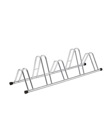 RMS Bike Rack For 5 Bikes, Silver Color.