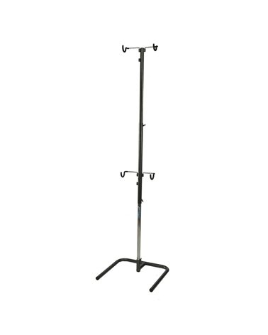 Bicisupport Two Bicycle Stand. Bicycles Are Supported By Rubber Protector Hooks.