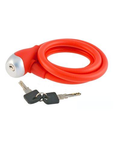 BTA Silicon Spiral Lock 12X1200mm Red..