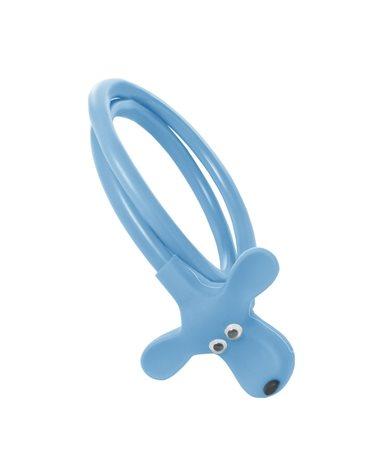 BTA Lucchetto in Silicone Doggy, 10X580mm, Blu