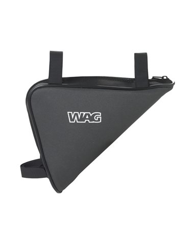Wag Triangle Bag Classic, With Velcro To Fix To Frame And Side Pocket With Zipper