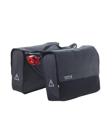 Wag Wire City Bags, Cordura 600D, For All Types Of Baggage Holders, Rearreflective Lights