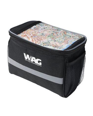 Wag Handlebar Bag With Velcro Straps.