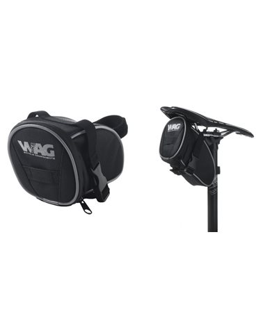 Wag Saddle Bag With Clip On Each Side And Velcro Strap