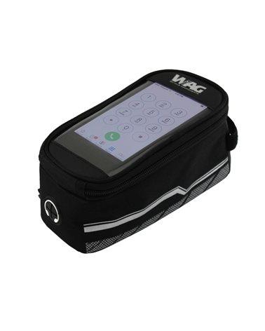 Wag Porta Smartphone Fissaggio al Tubo Orizzontale. Misura S.