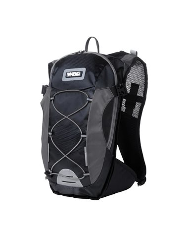 Wag Backpack With Water Bagr Color Black/Gray.