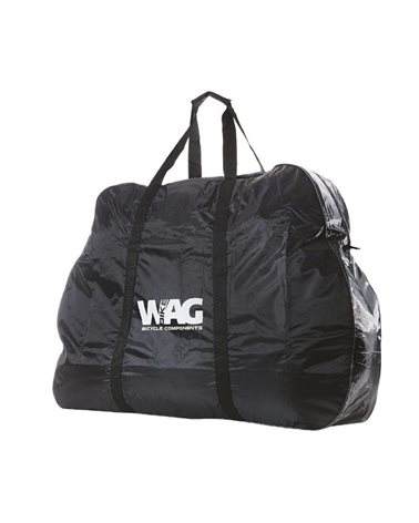 Wag Quilted Bike Carrier Bag 150X95X30Cm. Black.