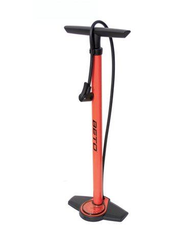 Beto Steel Floor Pump d With Gauge, Height 660mm, 11Bar, Red