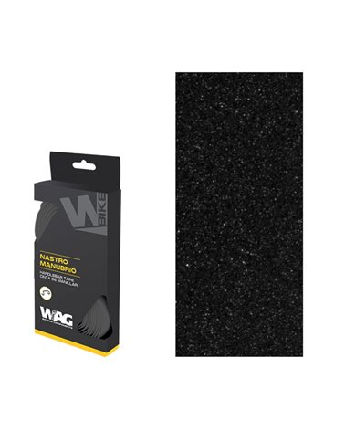 Wag Handlebar Tapes Basic, 30X1800X2, 5mm, Pack Of 2Tapes, 2Plugs And 2Pcs Of Adhesive Tape, Black