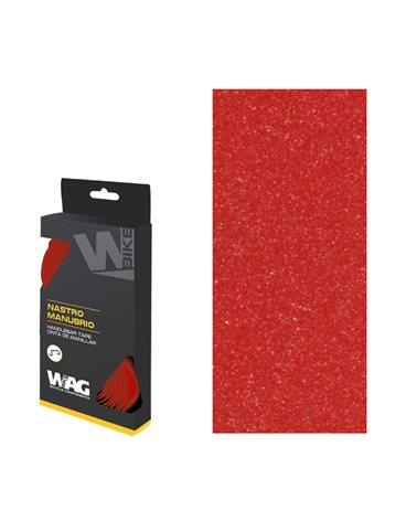Wag Nastro Manubrio Basic con Gel, Rosso
