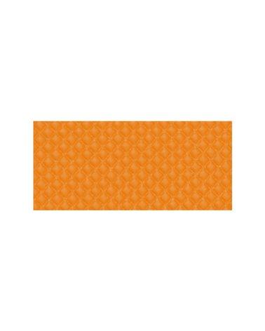 Velo Handlebar Tapes Diamond, No Slipping With Gel, Neon Orange Color.