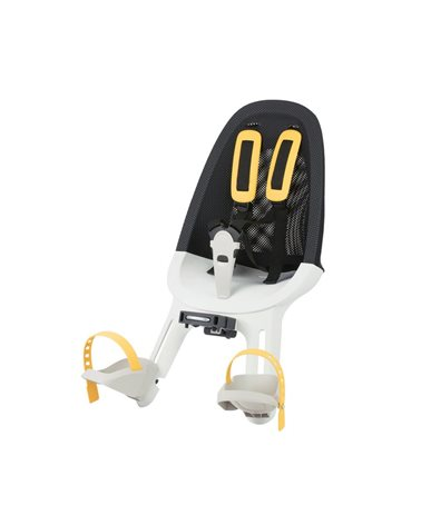 Qibbel Child Front Seat Air, Black/White-Smoke Colours