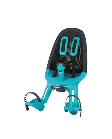 Qibbel Child Front Seat Air, Black/Turquoise Color