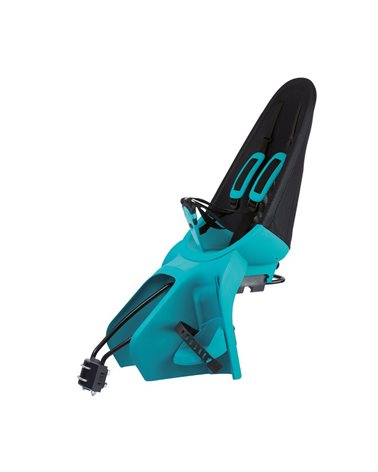 Qibbel Rear Child Seatpost, Fixed To The Frame, Black/Turquoise