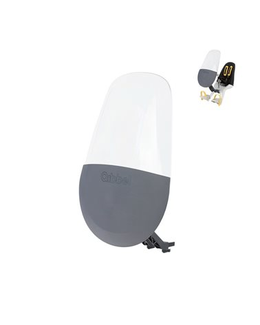 Qibbel Parabrezza Air Windscreen, Montaggio al Seggiolino Air Front