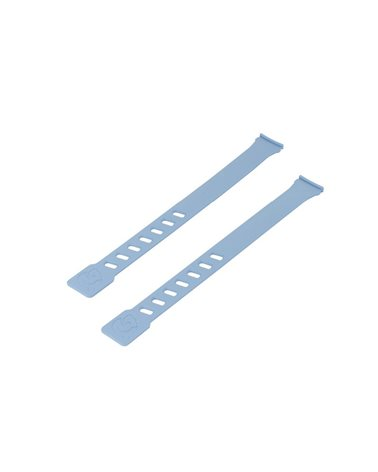 Qibbel Coppia Laccetti Azzurro per Seggiolini Air Front e Air Rear