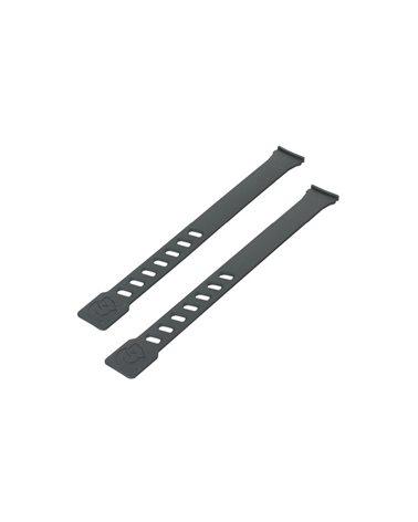 Qibbel Coppia Laccetti Nero per Seggiolini Air Front e Air Rear