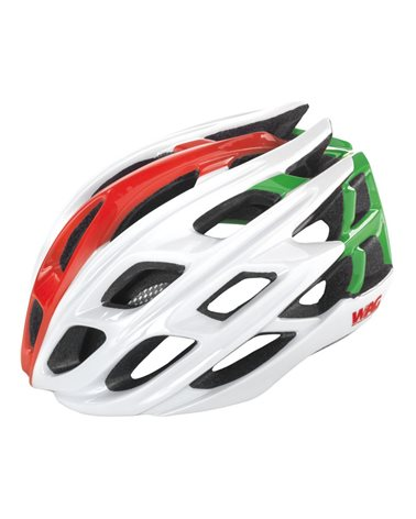 Wag Road Helmet For Adult Gt3000, In-Mould Size M, Italian Flag Colors.