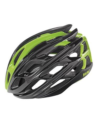 Wag Casco Road Gt3000In-Mould Conehead, Taglia L, Colorazione Nero/Verde