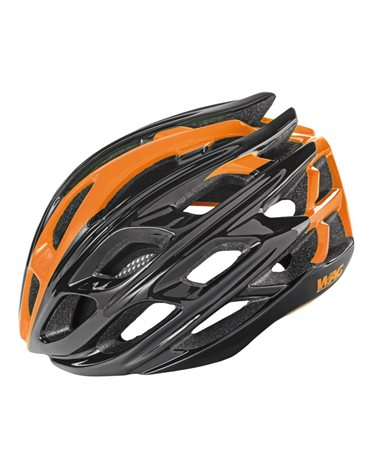 Wag Casco Road Gt3000In-Mould Conehead, Taglia L, Colorazione Nero/Arancio