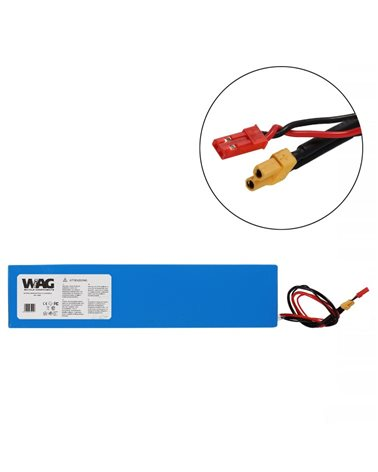 Wag Battery Litium Pack 36V 7, 8Ah For Kick Scooter. Dimensions:295X70X40mm