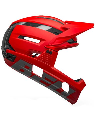 Bell Super Air R Spherical MIPS MTB Helmet,  Matte-Gloss Red/Gray