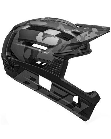 Bell Super Air R Spherical MIPS MTB Helmet,  Matte-Gloss Black Camo