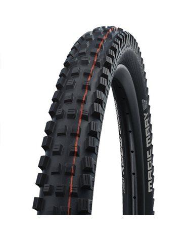 Schwalbe Magic Mary 27.5x2.60 EVO SnakeSkin Super Gravity Addix Soft Tubeless Ready Tyre, Black