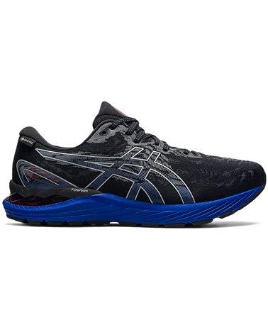 Asics Gel-Cumulus 23 GTX Gore-Tex Men's Running Shoes, Black/Sheet Rock