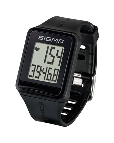 Sigma iD.go Orologio Cardiofrequenzimetro, Nero