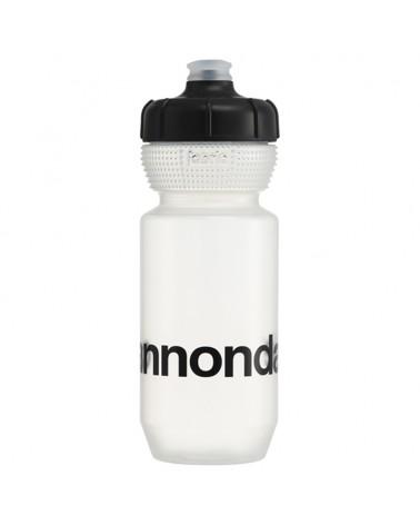 Cannondale Logo Gripper Bottle 600ml, Clear/Black