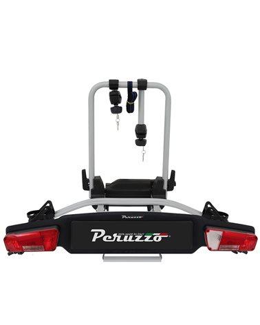 Peruzzo Zephyr Portabici Posteriore Gancio Traino (2 Bici/e-Bikes - 13 Poli)