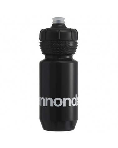 Cannondale Logo Gripper Borraccia 600ml, Nero/Bianco