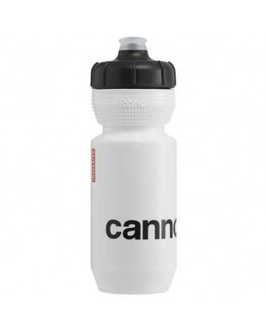 Cannondale Logo Gripper Insulated Borraccia 550ml, Bianco/Nero