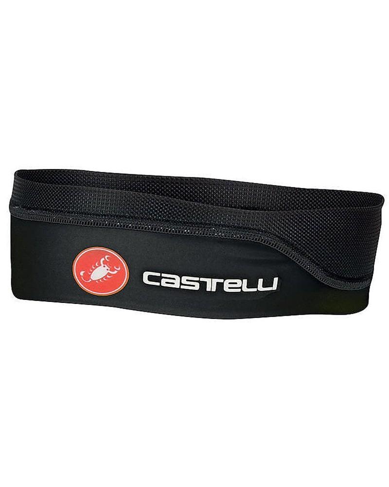 Castelli Fascia Testa Estiva Ciclismo, Nero (Taglia Unica)