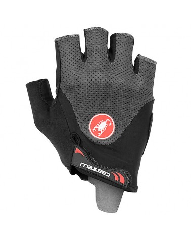 castelli,arenberg,gel,2,mens,cycling,short,fingers,gloves,dark,gray,abbigliamento,ciclismo,accessori,guanti,bike,sport,adventure