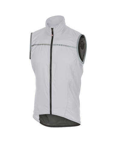 Castelli Superleggera Windproof Men's Cycling Vest, White
