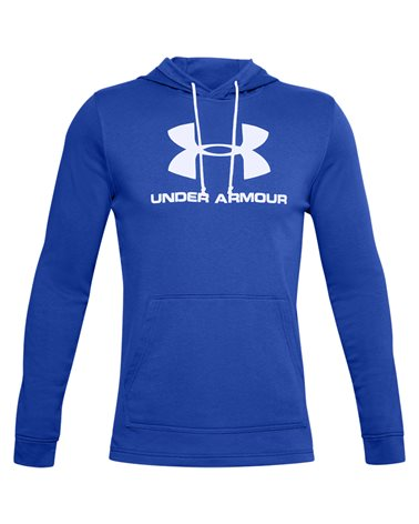 Under Armour Sportstyle Terry Logo Men's Hoodie, Emotion Blue