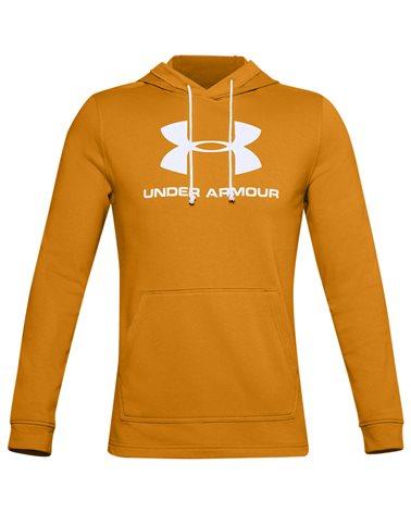 Under Armour Sportstyle Terry Logo Men's Hoodie, Golden Yellow
