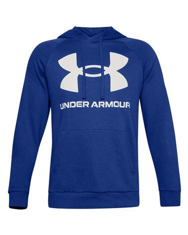 Under Armour UA Rival Big Logo Fleece Men's Hoodie, Blue