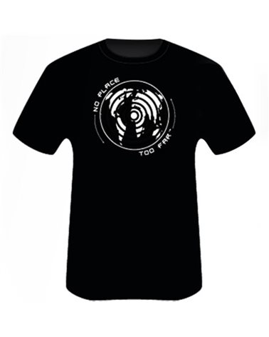 Scarpa T-Shirt Globe, Black