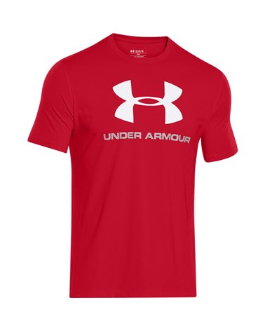 Under Armour Sportstyle Logo T-Shirt Man, Red