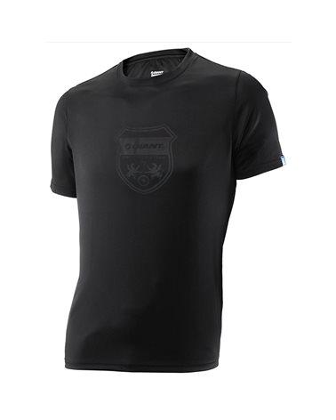 Giant Team Crest Tech T-Shirt Man, Black
