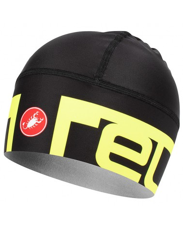 Castelli Viva 2 Thermo Skully Thermoflex Cycling Skullcap, Black (One Size Fits All)