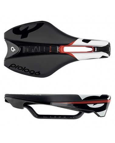 Prologo Bicycle Saddle Tgale Pas Nack Carbon, Black